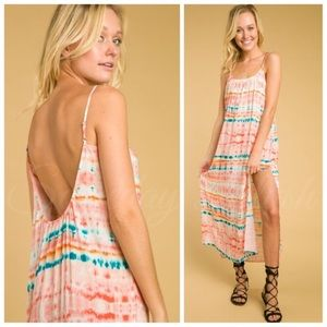 ⭐️HP⭐️⭐️ Tie Dye Maxi Dress